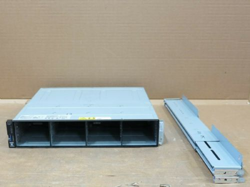 "IBM Storwize V5000 2078-12E 12 x 3.5"" LFF Expansion Array 2 x EMM 2 x PSU's"